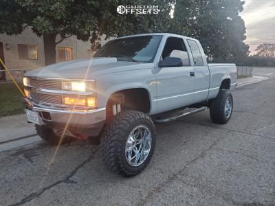 """1997 Chevrolet K1500 - 20x12 -45mm - Fuel Hostage D530 - Suspension Lift 6"""" - 35"""" x 12.5"""""""