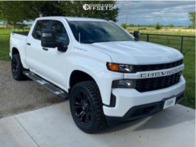 2020 Chevrolet Silverado 1500 - 20x9 -2mm - Fuel Vapor - Leveling Kit - 305/55R20