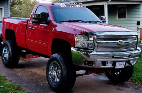 "2010 Chevrolet Silverado 1500 - 20x12 -44mm - RBP 65r - Suspension Lift 7.5"" & Body 3"" - 37"" x 13.5"""