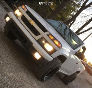 "2012 Chevrolet Colorado - 15x10 -44mm - Pro Comp 52 - Stock Suspension - 27"" x 10.5"""
