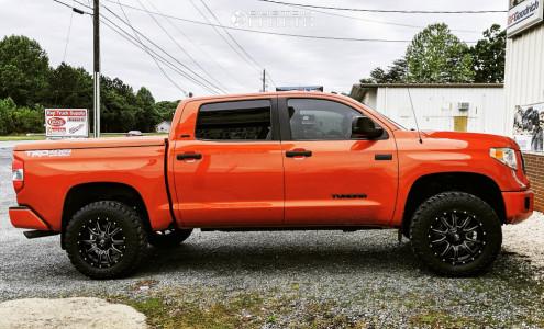 "2017 Toyota Tundra - 20x9 1mm - Fuel Vandal - Suspension Lift 3"" - 275/65R20"