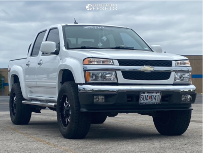 "2011 Chevrolet Colorado - 18x9 1mm - Mayhem Warrior - Suspension Lift 2.5"" - 33"" x 20"""