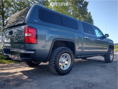 "2014 GMC Sierra 1500 - 17x9 -12mm - Ultra 164 - Suspension Lift 3.5"" - 33"" x 12.5"""