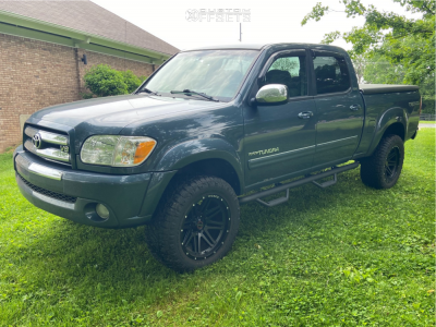 """2005 Toyota Tundra - 20x10 -24mm - Wicked Offroad W901 - Suspension Lift 2.5"""" - 305/55R20"""