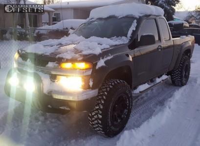"2005 Chevrolet Colorado - 17x9 -6mm - Pro Comp Series 36 - Suspension Lift 4"" - 285/70R17"