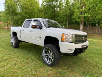 "2011 Chevrolet Silverado 1500 - 24x12 -1612.9mm - Vision 360 - Suspension Lift 8"" - 35"" x 12.5"""