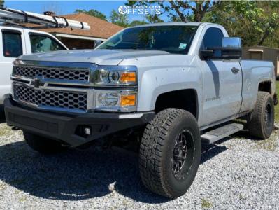 "2015 Chevrolet Silverado 1500 - 17x10 -12mm - XD Xd820 - Suspension Lift 2.5"" - 285/70R17"
