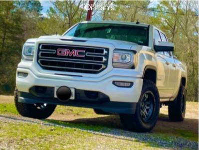 "2019 GMC Sierra 1500 Limited - 18x9 -12mm - Fuel Ammo - Leveling Kit - 33"" x 12.5"""