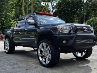 """2014 Toyota Tacoma - 24x10 31mm - Factory Reproductions Fr48 - Leveling Kit - 33"""" x 12.5"""""""
