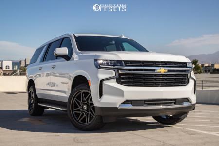 2020 Chevrolet Suburban - 22x10 10mm - Gear Off-Road Ratio - Stock Suspension - 285/45R22