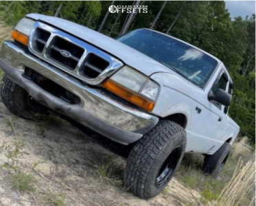 "2000 Ford Ranger - 15x10.5 57.15mm - 6Performance Bdr - Stock Suspension - 31"" x 10.5"""