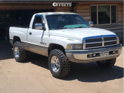 "1995 Dodge Ram 1500 - 17x9 -12mm - Ultra 164 - Leveling Kit - 33"" x 12.5"""