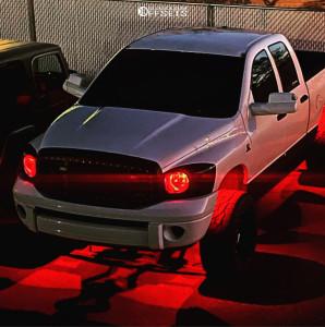 "2009 Dodge Ram 2500 - 20x12 -44mm - Moto Metal 962 - Suspension Lift 2.5"" - 33"" x 12.5"""