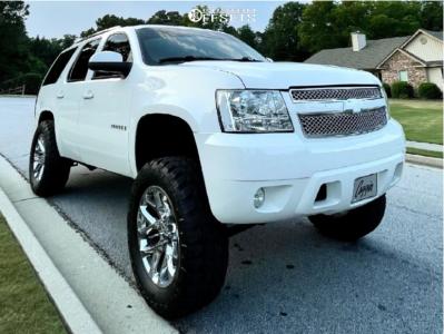 "2009 Chevrolet Tahoe - 20x9 27mm - OE Replicas Flakes - Suspension Lift 7.5"" - 35"" x 12.5"""