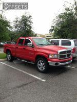 """2003 Dodge Ram 1500 - 20x9 10mm - XD Rockstar - Suspension Lift 3"""" - 305/55R20"""