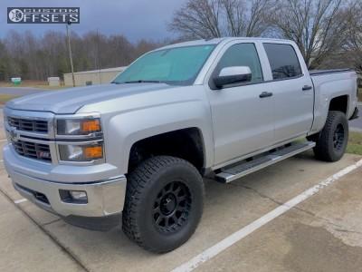 "2014 Chevrolet Silverado 1500 - 18x9 0mm - Pro Comp Series 32 - Suspension Lift 3.5"" - 305/65R18"