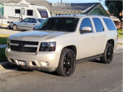 """2007 Chevrolet Tahoe - 24x10 10mm - Force Off-road F32 - Stock Suspension - 32"""" x 9.5"""""""