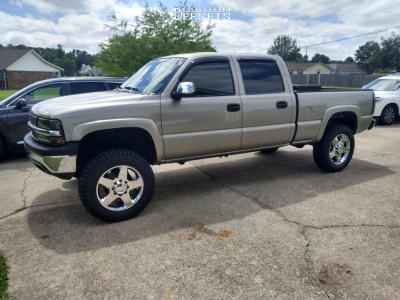 """2002 Chevrolet Silverado 1500 HD - 20x8.5 12mm - 4Play OE Wheels Cv91a - Suspension Lift 5"""" - 275/65R20"""