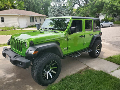 """2018 Jeep Wrangler - 20x11 -19mm - Monster Offroad Other - Suspension Lift 2.5"""" - 35"""" x 12.5"""""""