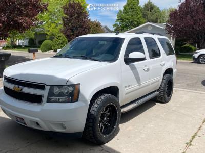2013 Chevrolet Tahoe - 20x10 -24mm - Fuel Vandal - Stock Suspension - 275/55R20