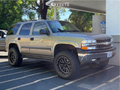 """2003 Chevrolet Tahoe - 20x10 -12mm - Wicked Offroad W907 - Suspension Lift 6"""" - 35"""" x 12.5"""""""