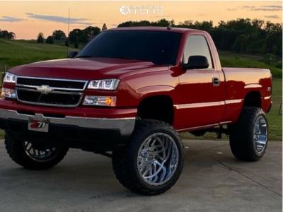 "2006 Chevrolet Silverado 1500 - 22x14 78mm - TIS 544c - Suspension Lift 6"" - 35"" x 13.5"""