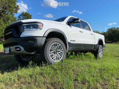 2020 Ram 1500 - 20x9 -0mm - VenomRex VR603 - Air Suspension - 285/60R20