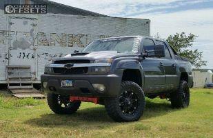 "2003 Chevrolet Avalanche - 20x9 6mm - Fuel Hostage - Suspension Lift 6"" - 35"" x 12.5"""