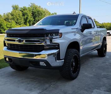 "2020 Chevrolet Silverado 1500 - 20x10 -24mm - TIS 544bm - Suspension Lift 3.5"" - 33"" x 12.5"""