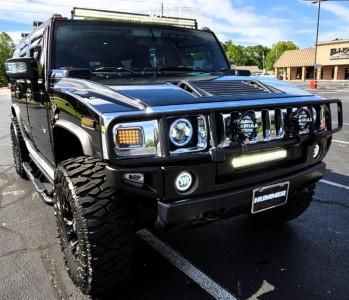 "2006 Hummer H2 - 17x9 1mm - Fuel Vapor - Stock Suspension - 37"" x 12.5"""