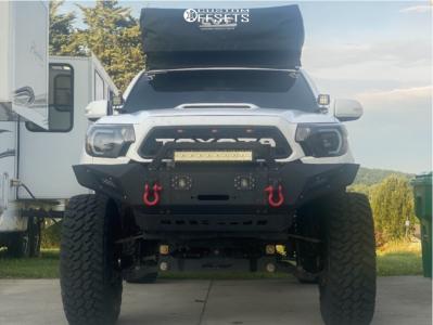 "2015 Toyota Tacoma - 17x9 -12mm - Fuel Covert - Suspension Lift 6"" - 37"" x 12.5"""