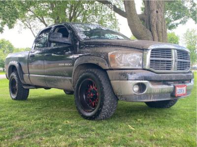 "2007 Dodge Ram 1500 - 20x10 -18mm - Fuel Stroke - Stock Suspension - 35"" x 12.5"""