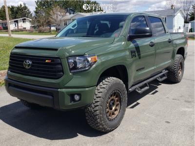 2021 Toyota Tundra - 18x9 25mm - Method Nv - Leveling Kit - 295/70R18