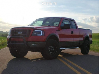 """2005 Ford F-150 - 17x9 -12mm - Fuel Stroke - Leveling Kit - 35"""" x 11.5"""""""