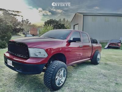 """2010 Dodge Ram 1500 - 20x14 -76mm - Full Throttle Ft-3 - Suspension Lift 6"""" - 35"""" x 12.5"""""""