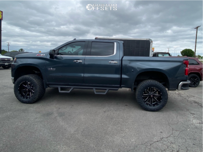 "2020 Chevrolet Silverado 1500 - 20x10 -19mm - Ballistic Rage 959 - Suspension Lift 6"" - 325/60R20"