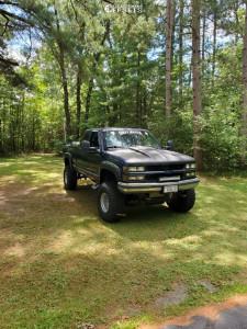 """1994 Chevrolet K1500 - 15x12 -44mm - Center Line Millennium - Suspension Lift 6"""" - 35"""" x 12.5"""""""