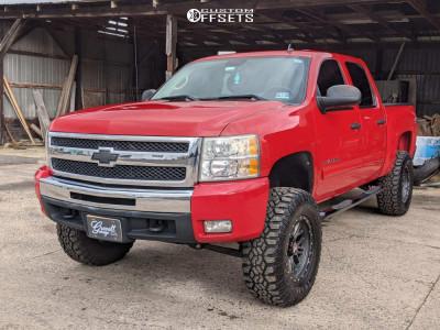 "2011 Chevrolet Silverado 1500 - 18x9 -15mm - Mamba M25 - Suspension Lift 6.5"" - 35"" x 12.5"""