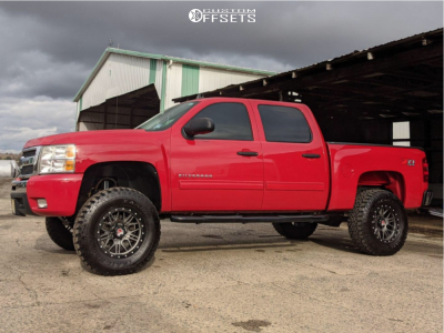 "2011 Chevrolet Silverado 1500 - 18x9 -15mm - Mamba M25 - Suspension Lift 6.5"" - 35"" x 11.5"""