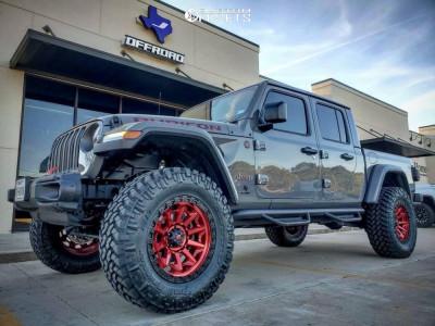 "2020 Jeep Gladiator - 20x9 1mm - Fuel Covert - Suspension Lift 3.5"" - 37"" x 12.5"""