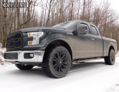 2015 Ford F-150 - 20x9 20mm - Fuel Vapor - Stock Suspension - 305/55R20
