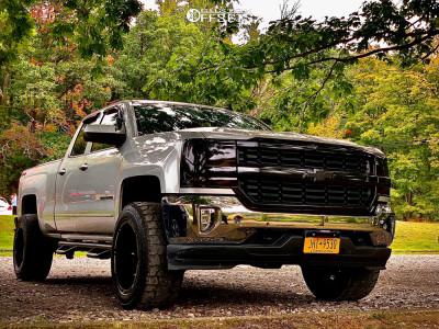 "2019 Chevrolet Silverado 1500 LD - 20x12 -44mm - Tis 544bm - Suspension Lift 3.5"" - 275/60R20"