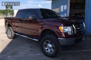 """2010 Ford F-150 - 20x9 18mm - XD Monster - Suspension Lift 6"""" - 325/60R20"""