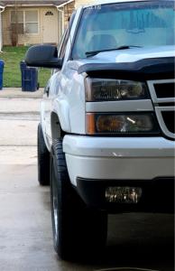 "2007 Chevrolet Silverado 1500 Classic - 20x10 -25mm - Gear Off-Road Challenger - Stock Suspension - 33"" x 12.5"""