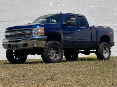 "2013 Chevrolet Silverado 1500 - 20x10 -24mm - Pro Comp 01 - Suspension Lift 7.5"" - 35"" x 12.5"""