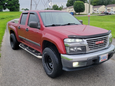 2006 GMC Canyon - 15x8 -19mm - Vision Soft 8 - Stock Suspension - 265/75R15