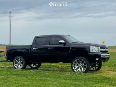 "2009 Chevrolet Silverado 1500 - 26x10 24mm - Oe Performance 176 Gm Accessory - Suspension Lift 7.5"" - 35"" x 12.5"""