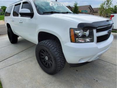 "2013 Chevrolet Suburban - 20x10 -18mm - Anthem Off-Road Liberty - Suspension Lift 5"" - 35"" x 12.5"""