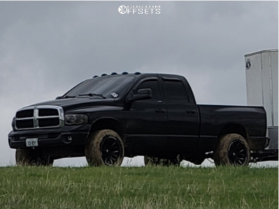 "2004 Dodge Ram 1500 - 20x12 -44mm - Dropstars 654bm - Stock Suspension - 33"" x 11.5"""