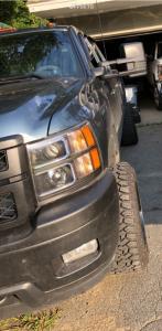 "2012 Chevrolet Silverado 3500 HD - 20x12 -44mm - TIS 544mb - Leveling Kit - 33"" x 12.5"""